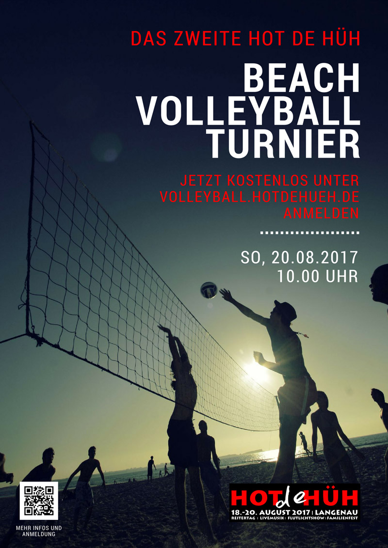 Plakat Volleyball 2017