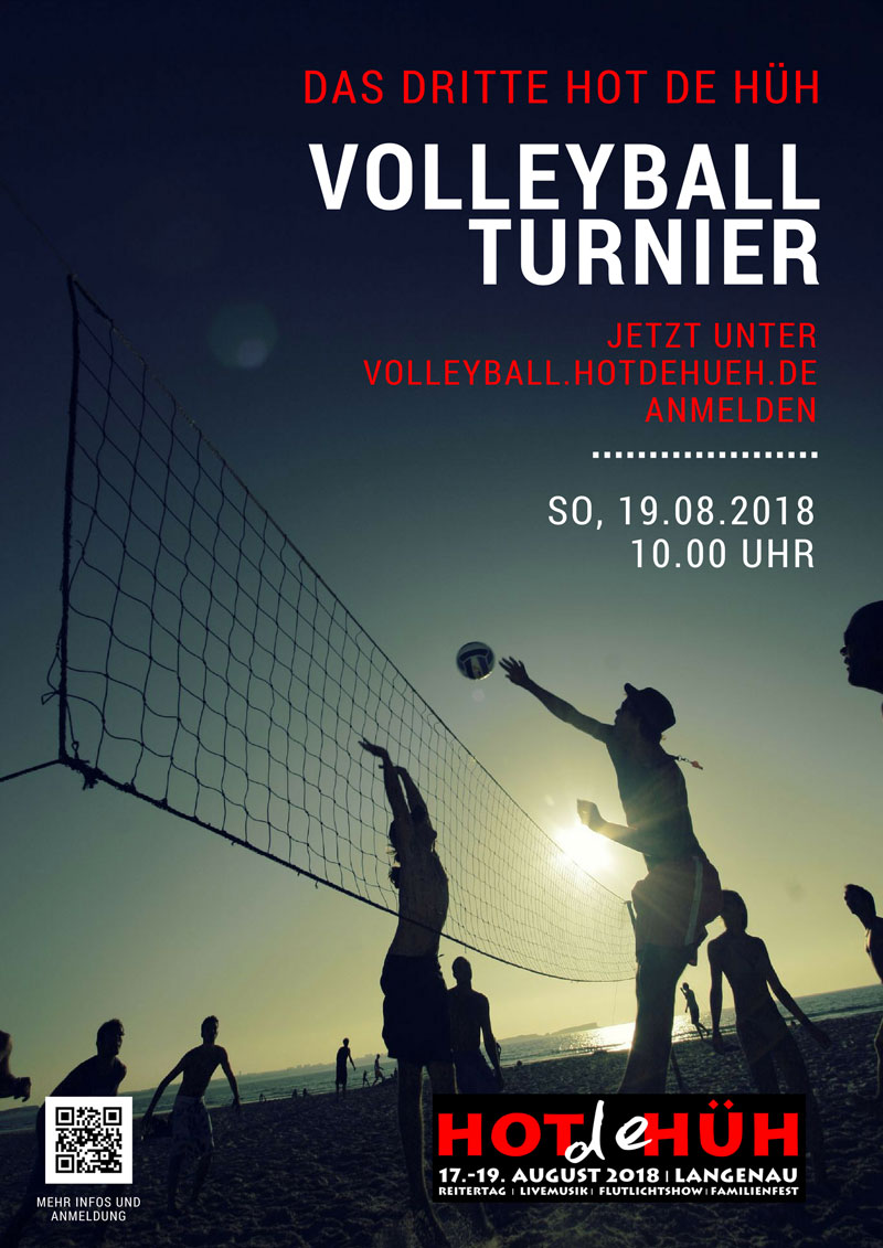 Plakat Volleyball 2018