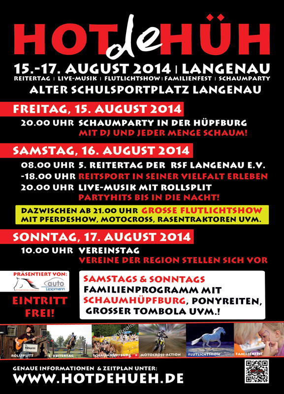 Flyer HOT de HÜH 2014 back